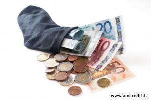 ilgalaikis skolinimasis nedirbantiems